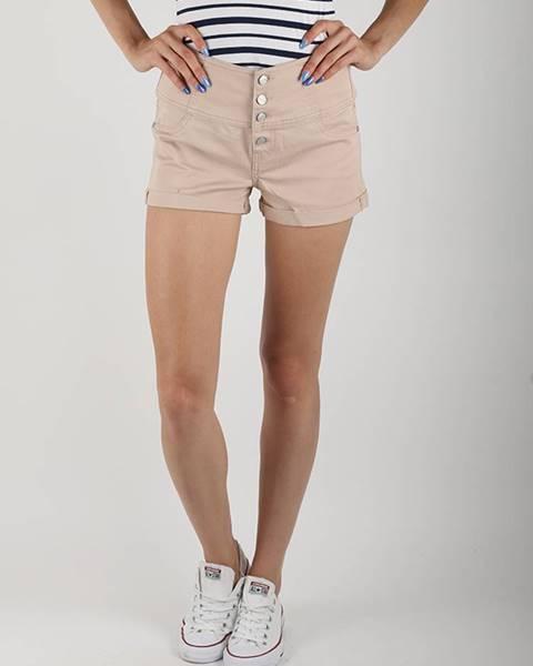 Šortky  Pantalone Corto Béžová