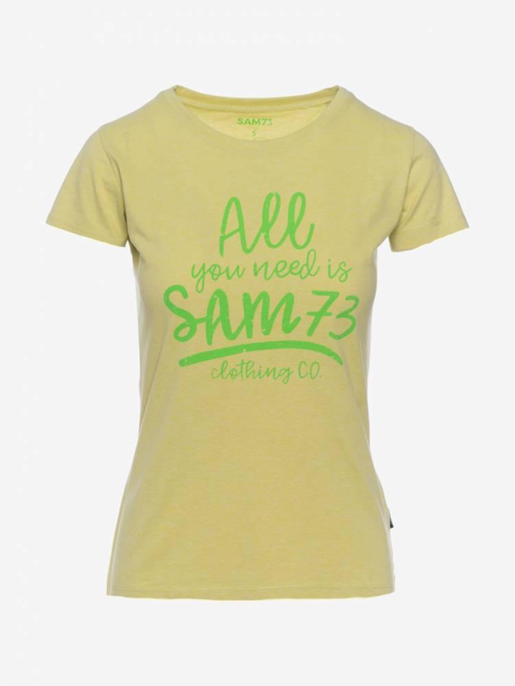 SAM 73 Tričko SAM 73 LTSN476 Žltá