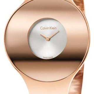 Calvin Klein Seamless Medium Hodinky Zlatá