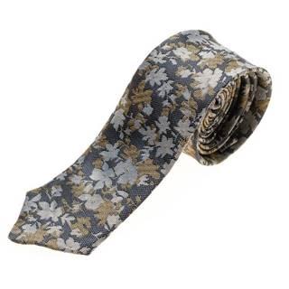 Tmavomodrá pánska elegantná kravata