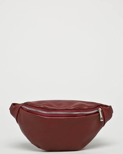 Burgundská kabelka Answear
