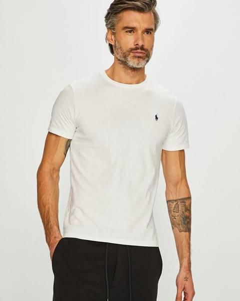 Biele tričko Polo Ralph Lauren