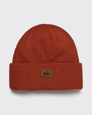 Oranžová čiapka Quiksilver