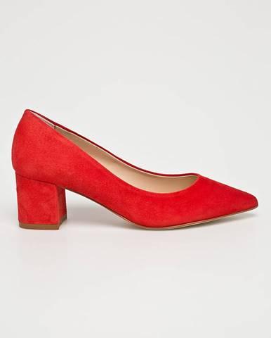 Červené lodičky Solo Femme