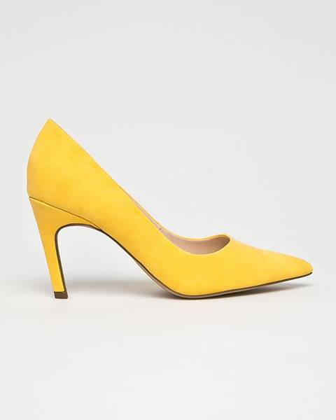 Žlté lodičky Steve Madden