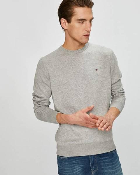 Sivý sveter Tommy Hilfiger