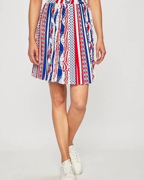 Viacfarebná sukňa Calvin Klein Jeans