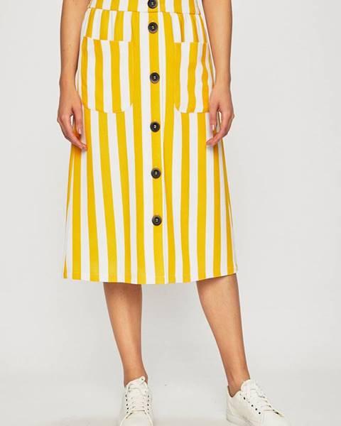 Žltá sukňa Only