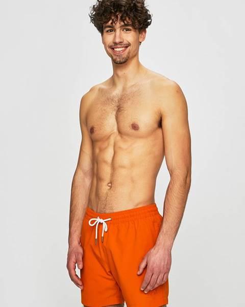 Oranžové plavky Jack Wolfskin