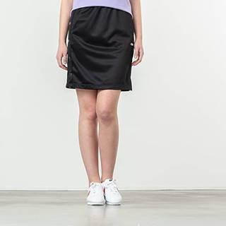 Jenna Buttoned Track Skirt Black