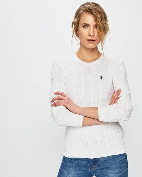 Biely sveter Polo Ralph Lauren
