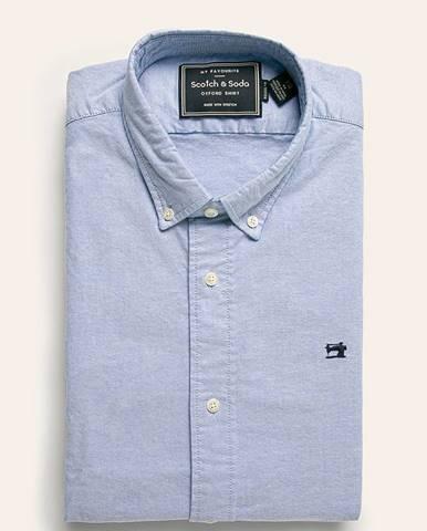 Modrá košeľa Scotch & Soda