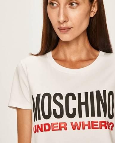 Biele pyžamo Moschino Underwear