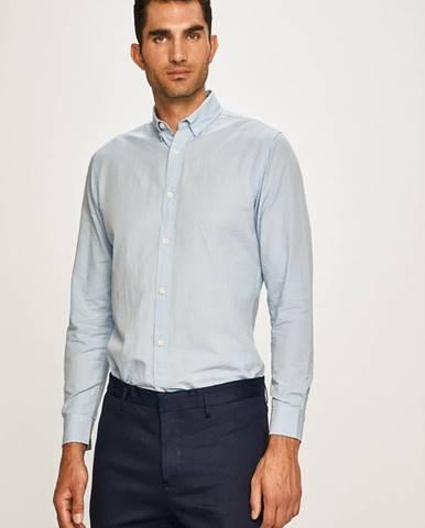 Modrá košeľa PRODUKT by Jack & Jones