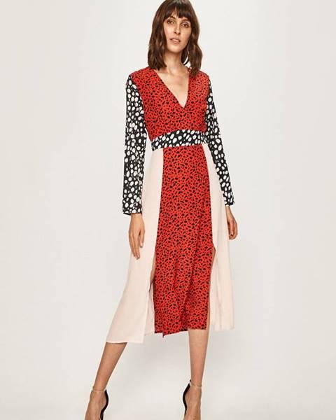Červené šaty Glamorous