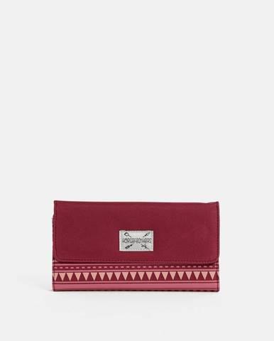 Tmavoružová peňaženka Horsefeathers