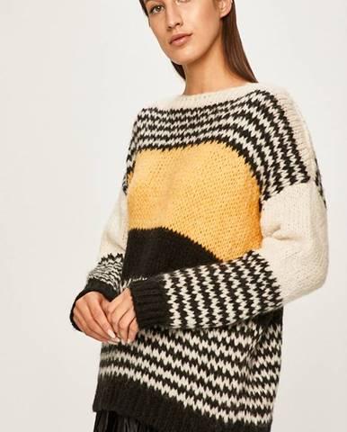 Viacfarebný sveter Answear