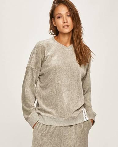 Sivé pyžamo Calvin Klein Underwear