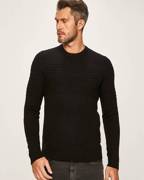 Čierny sveter ONLY & SONS