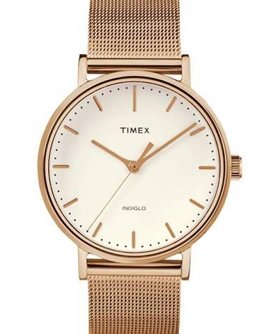 Zlaté hodinky Timex