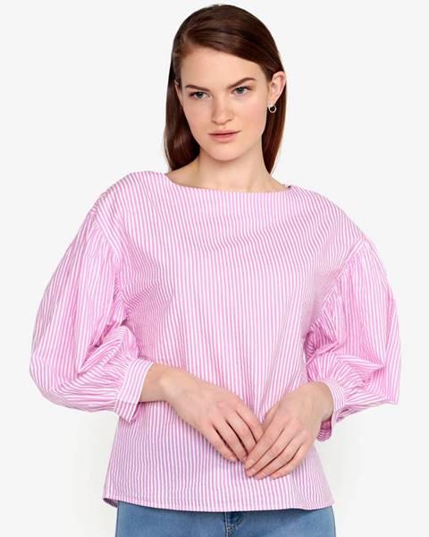 Ružová blúzka Vero Moda
