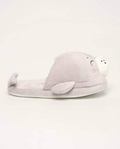 Sivé papuče TALLY WEiJL