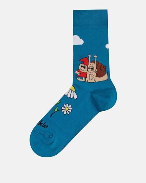 Tyrkysové ponožky Fusakle