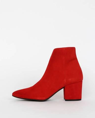 Červené topánky Vero Moda