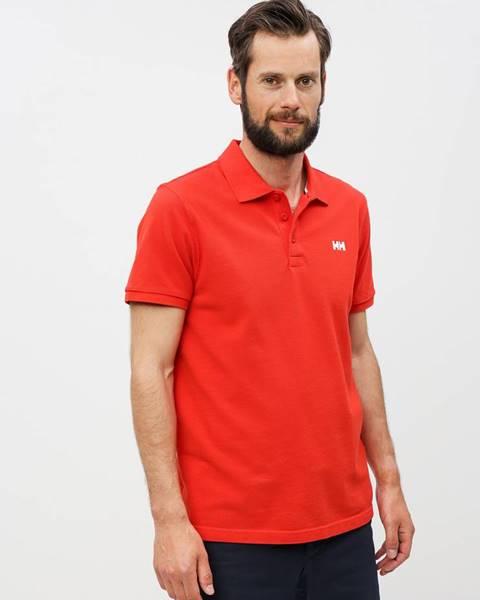 Červená košeľa Helly Hansen