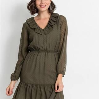 Volánové šaty