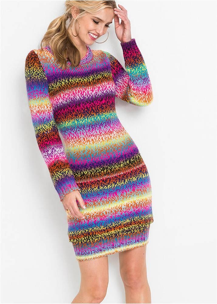 bonprix Pletené šaty