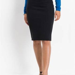 Elastická ceruzková sukňa so žakáru