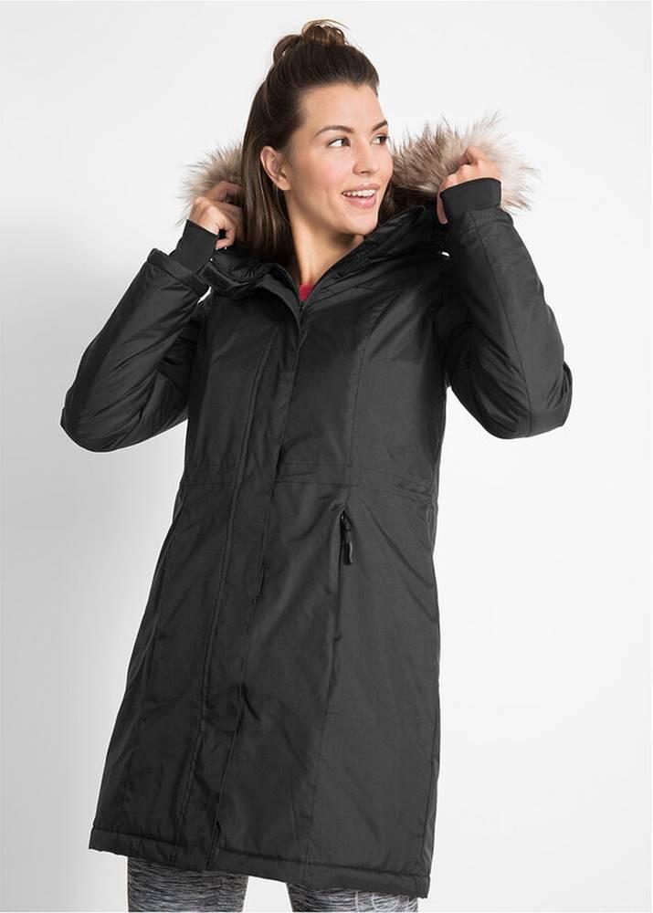 Teplý funkčný kabát s kožuš...