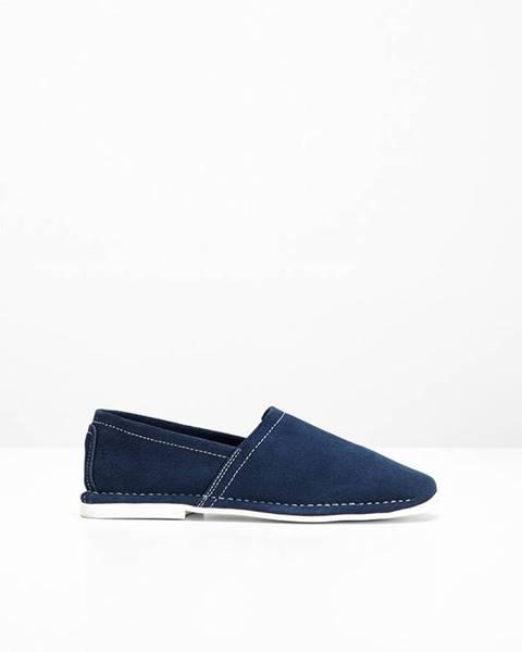 Modré topánky bonprix