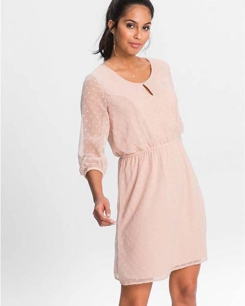 Ružové šaty bonprix