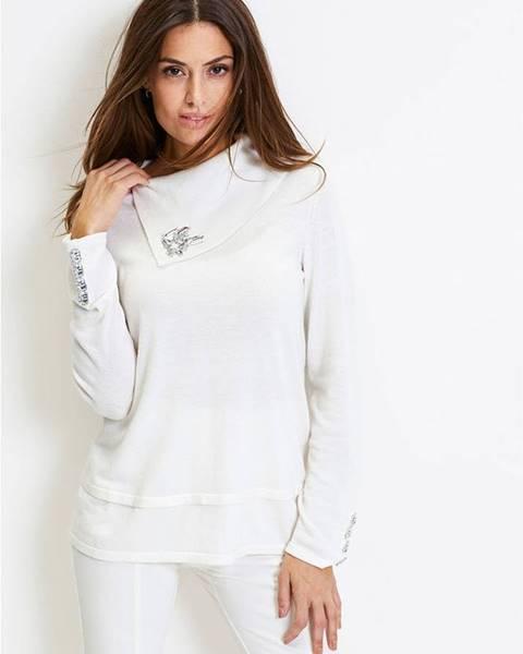 Biely pulóver bonprix