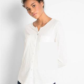 Bavlnené tričko, dlhý rukáv