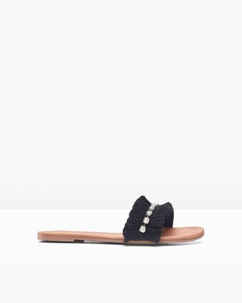Čierne sandále bonprix