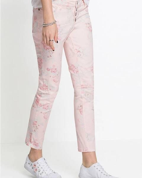 Ružové nohavice bonprix