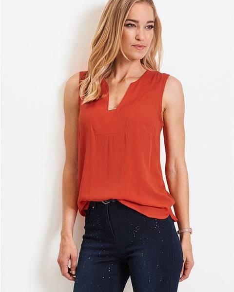 Oranžové tričko bonprix