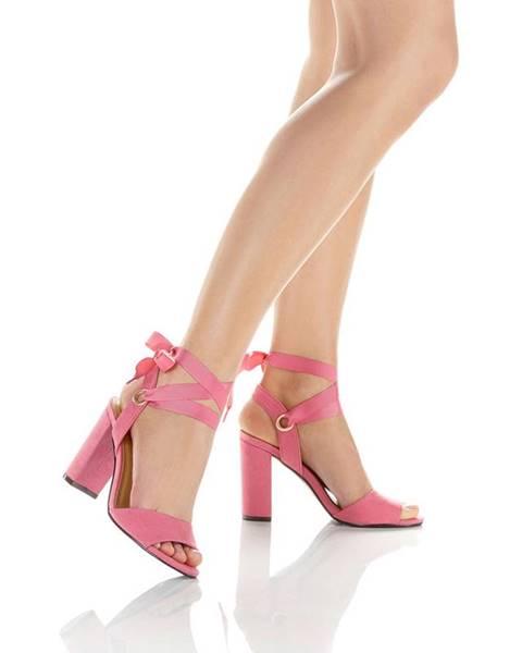 Ružové sandále bonprix