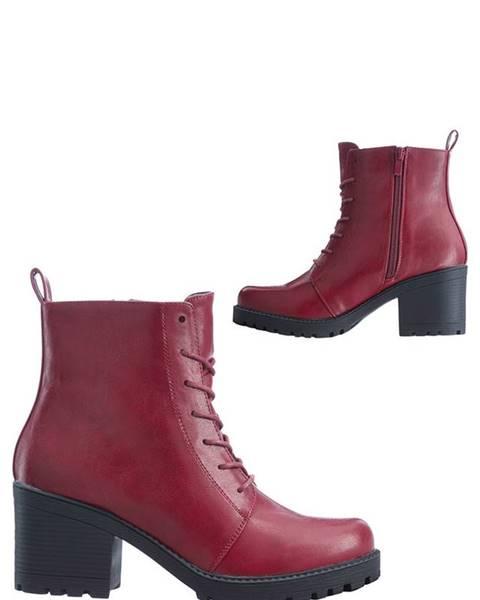 Červené topánky bonprix