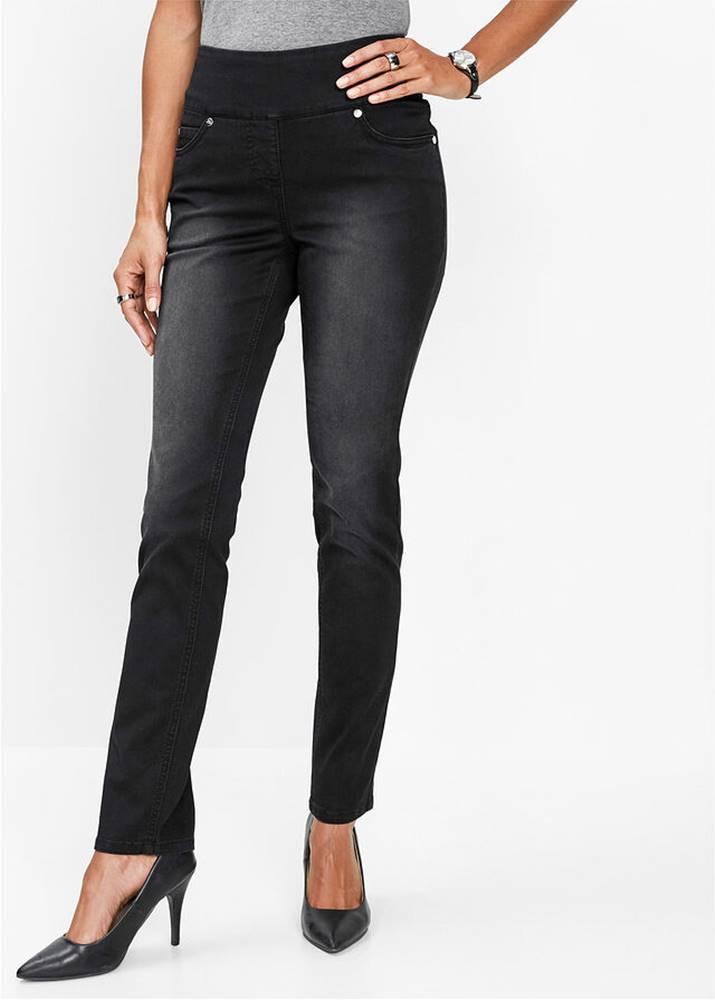 bonprix Mega strečové džínsy s pohodlným pásom