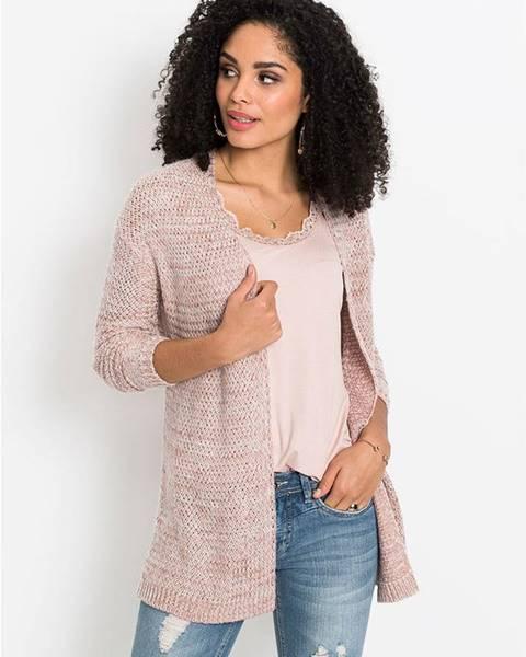 Ružový sveter bonprix