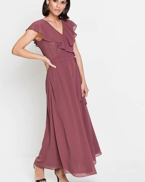 Fialové šaty bonprix
