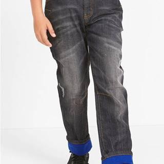 Strečové termo džínsy Slim Fit