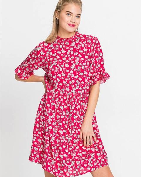 Červené šaty bonprix