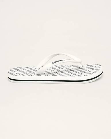 Biele sandále EA7 Emporio Armani