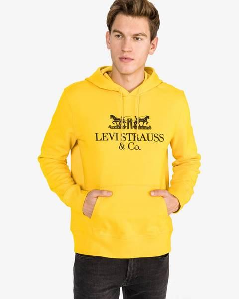 Žltá bunda s kapucňou LEVI'S