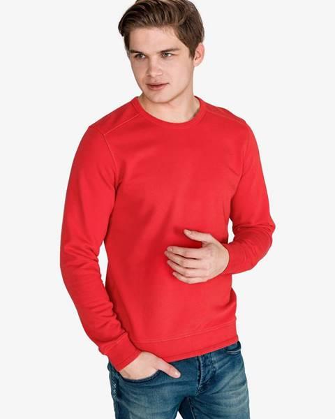 Červená bunda bez kapucne Scotch & Soda